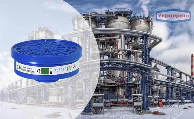 Купить недорого фильтр ФРПА-G K1 для защиты дыхания