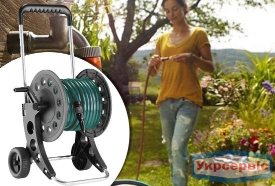 Купить недорого катушку для садового шланга Claber Aquaviva 60 Kit