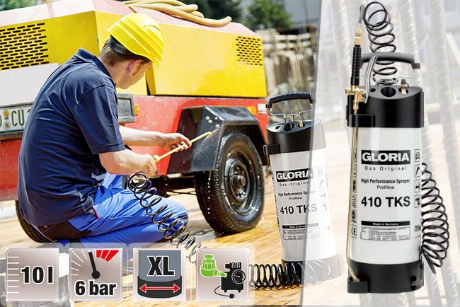 Купить недорогой профессиональный распылитель Gloria 410 TKS Profiline