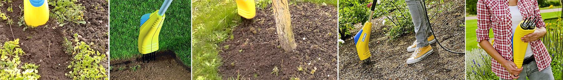 Недорого купить надежный электрический культиватор для рыхления и прополки почвы
