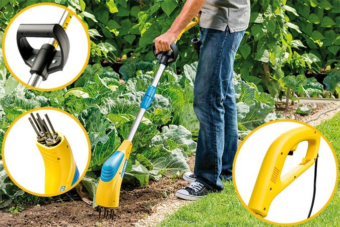 Купить выгодно сетевой культиватор для дачи Gloria Gardenboy Plus