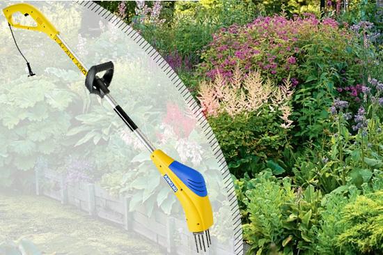 Купить выгодно ручной электрический культиватор для дачи Gloria Gardenboy Plus