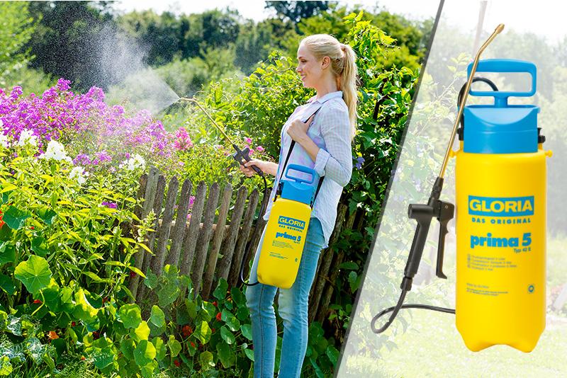 Купить недорого садовый опрыскиватель Gloria Prima5 42 E
