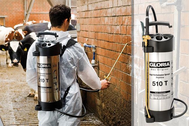 Купить недорого профессиональный опрыскиватель Gloria 510 T Profiline