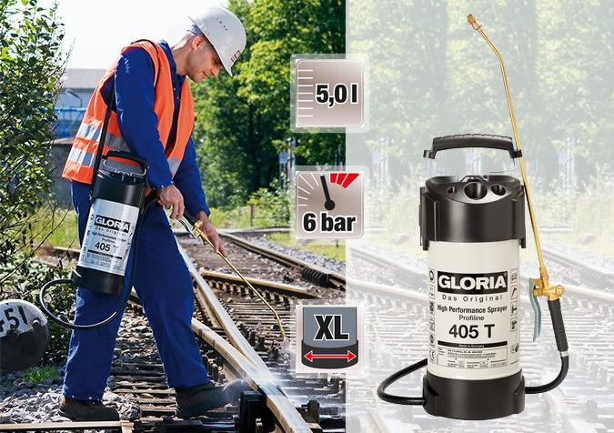Выгодно купить опрыскиватель для промышленности Gloria 405 Т Profiline