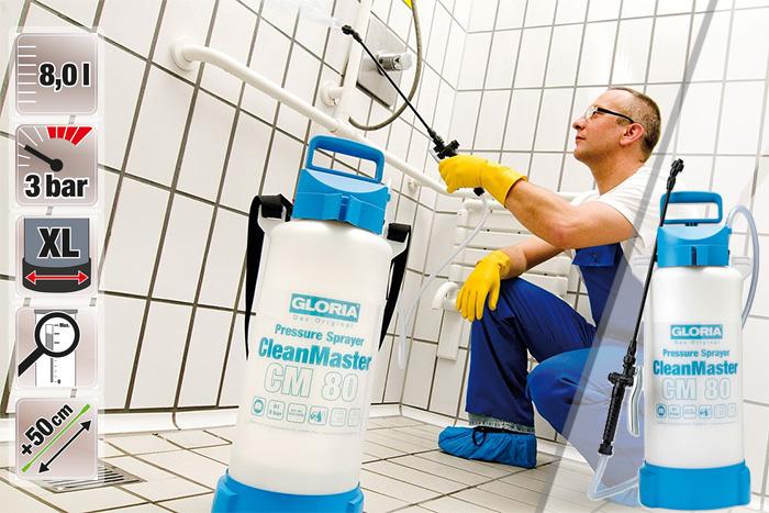 Купить недорогой распылитель для чистящих средств Gloria CleanMaster CM 80