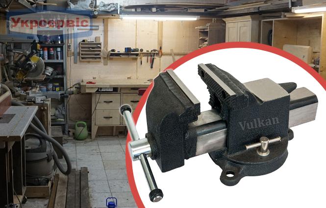 Купить недорого слесарные тиски Vulkan MPV1-200