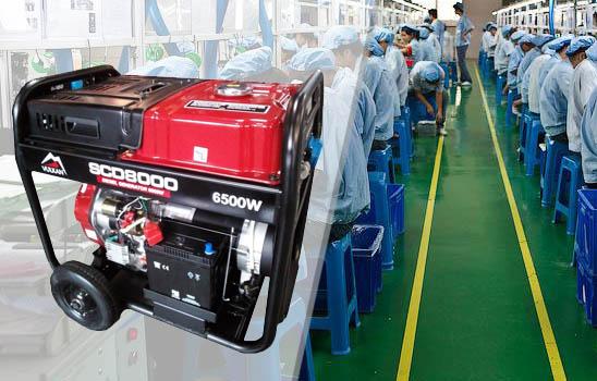 Купить выгодно дизельный генератор Vulkan SCD8000