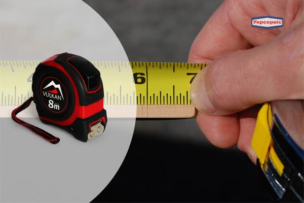 Купить недорого измерительную рулетку Vulkan