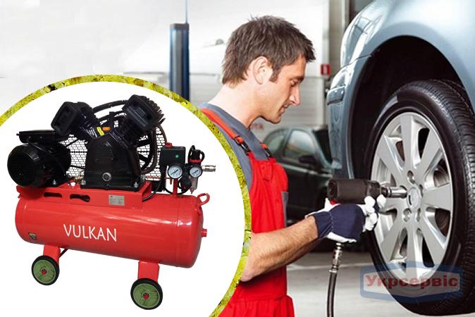Купить недорого компрессор сжатого воздуха Vulkan IBL 2065E-220-50