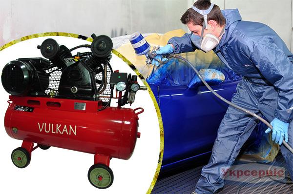 Купить недорого компрессор сжатого воздуха Vulkan IBL2070E-220-50