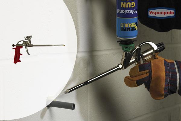 Купить пистолет для нанесения монтажной пены Vulkan JF-PU004 в Украине